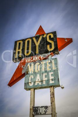 USA Route 66 / Motel & Cafe in der Wüste