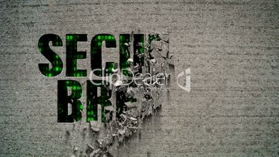 Security Breach Crumbling Wall Code Matrix