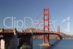 san francisco, Brücke, golden gate bridge, aussicht, bauwerk, berühmt, bucht, farbanstrich, farbe, golden gate brücke, hängebrücke, kalifornien, wahrzeichen, Verkehr, autos, Straße, Maut