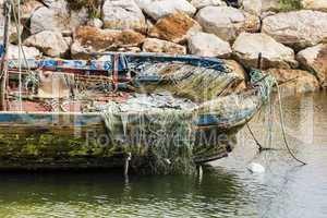 altes Fischerboot, old fishing boat