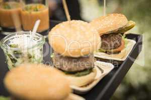 Hamburger Catering Fast Food