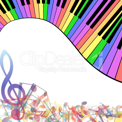 Multicolor musical