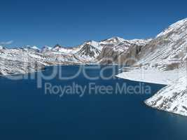 Beautiful turqouise Lake Tilicho