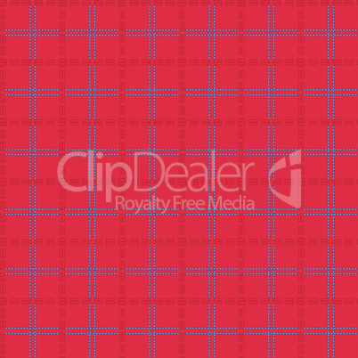 Bright red seamless mesh pattern