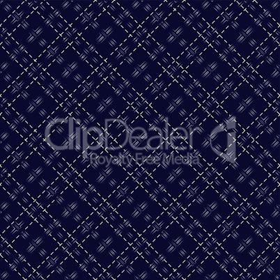 Dark blue seamless mesh pattern