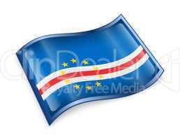 Cape Verde Flag icon.
