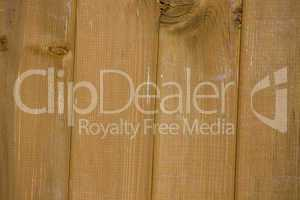 Vertical wooden planks light brown color
