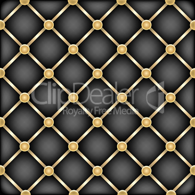 golden black leather furniture texture