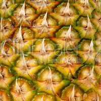 Peel pineapple