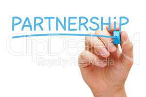 Partnership Blue Marker