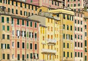 Camogli Hausfassaden - Camogli house façade 01