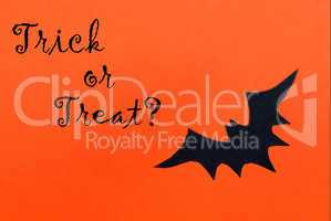Halloween Background with Trick or Treat