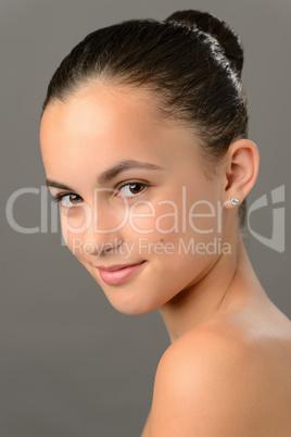 Teenage girl skin beauty romantic purity ballet