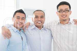 Southeast Asian business team