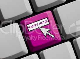 Tastatur violett: Happy Hour