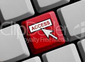 Tastatur rot: Access