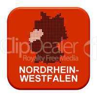 Button Serie Bundesländer: Nordrhein-Westfalen