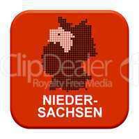 Button Serie Bundesländer: Niedersachsen