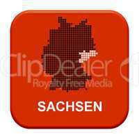 Button Serie Bundesländer: Sachsen