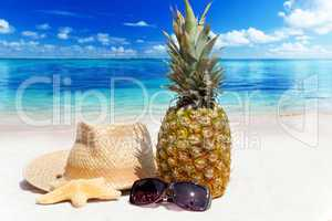 Entspannen am tropischen Sandstrand