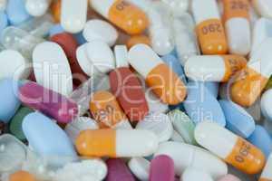 Tablettenhaufen