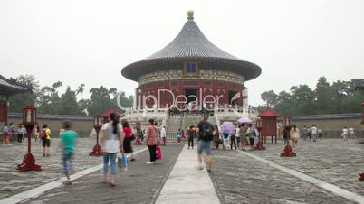 The temple of Heaven at daytime HD.