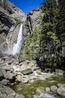 Wasserfall im Yosemite National Park, USA