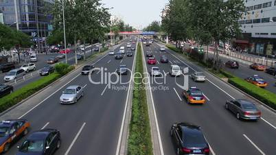 Beijing 3rd ring road at daytime HD