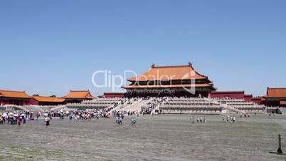Palace museum at daytime. Taihedian HD.