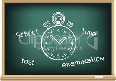 board school stopwatch