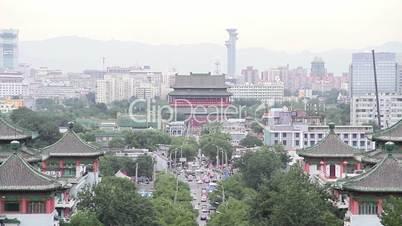 Jingshan park at daytime HD.
