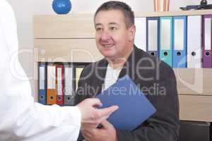 Doctor discussed with the commercial chief
