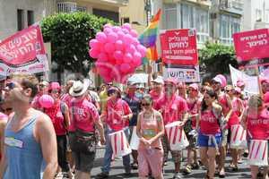 Pride Parade in Tel Aviv 2013