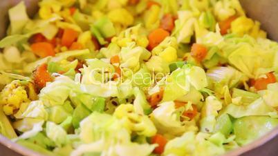 vegetable dish sabzi