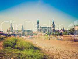 Elbe river in Dresden