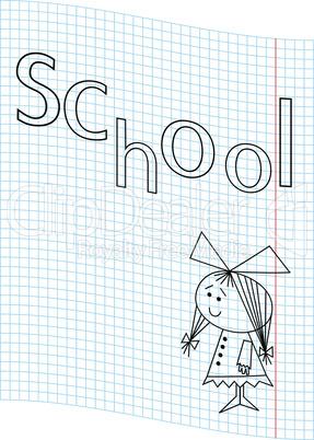 School girl picture