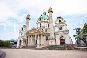 St. Charles's Church in Vienna