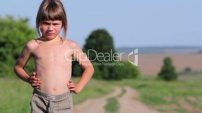 Country Boy.Rural child.
