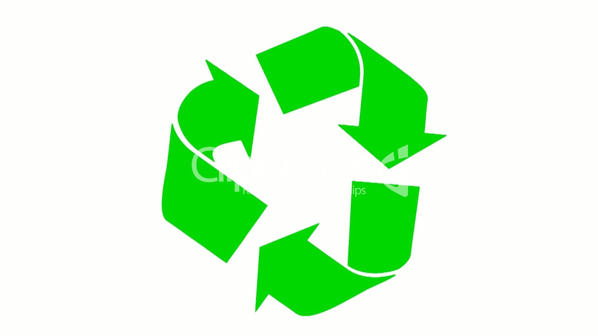 Recycle Symbol Royalty Free Video And Stock Footage