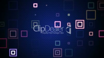 pulsating squares loopable background