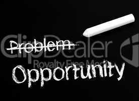 Problem and Opportunity
