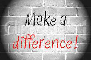 Make a difference !