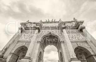 Arc de Triomphe de Carrousel in Paris