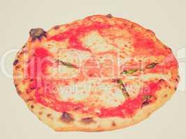 Retro look Pizza Margherita