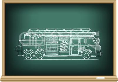 board fire truck