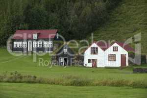 Traditional iclandic houses