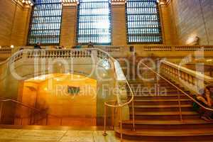 NEW YORK, JUNE 10: Commuters and tourists in the grand central s