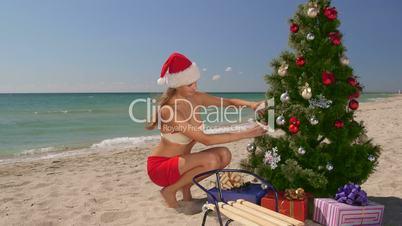 Christmas beach vacations