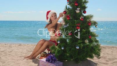 Christmas tropical beach vacations