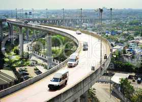 Overpass in Bangkok